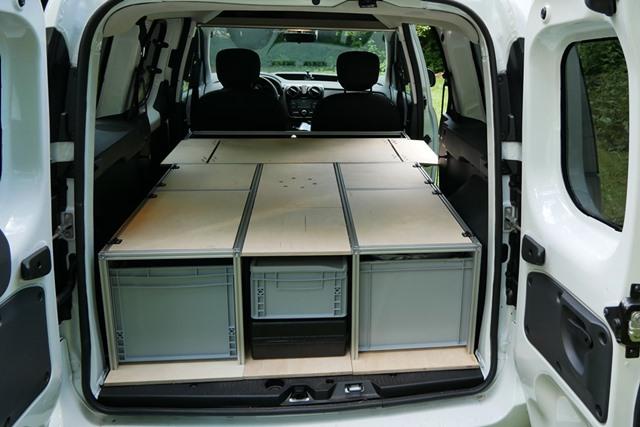Dacia Dokker Minicamper Ausbau
