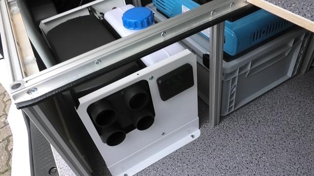 Chinaheizung im Minicamper